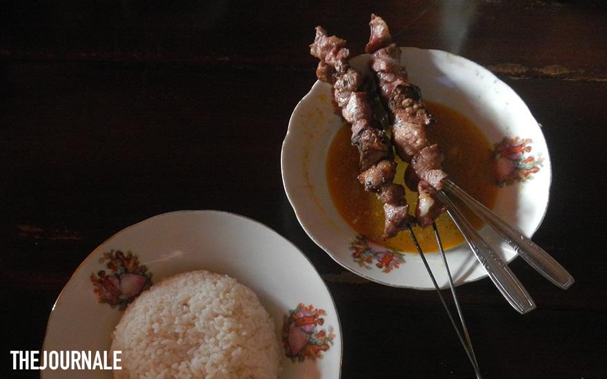 Makanan khas Indonesia dari Jogja Sate Klathak