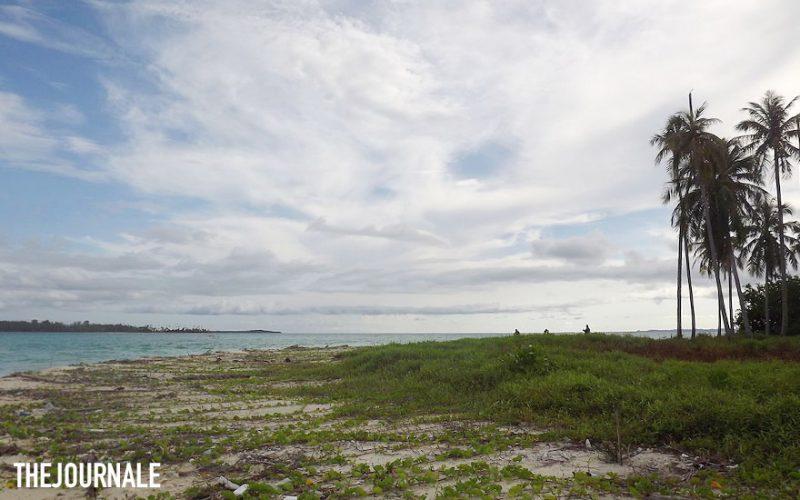 Pulau Panjang di Kepulauan Banyak