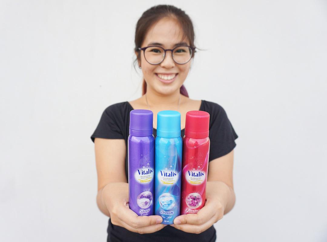 Vitalis Body Spray: Teman untuk Pergi ke Acara