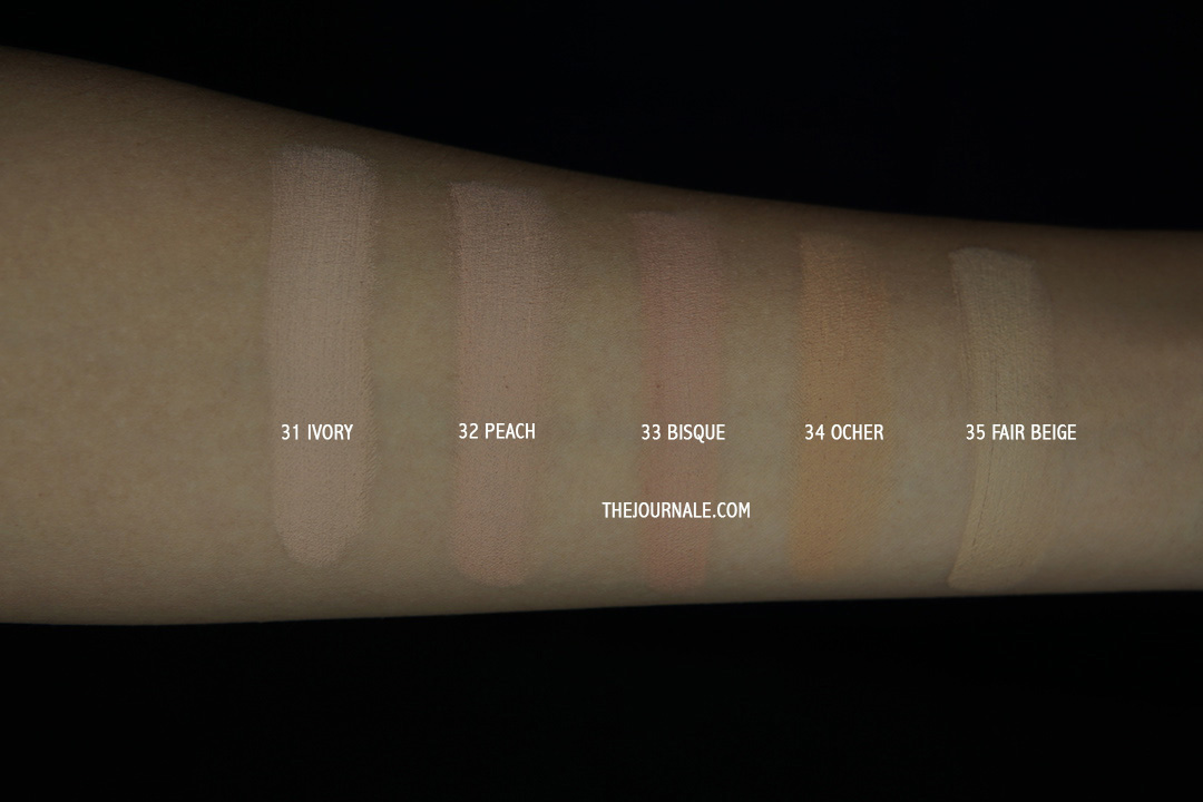 Nyobain 5 Shade Foundation Revlon Sekaligus [REVIEW]
