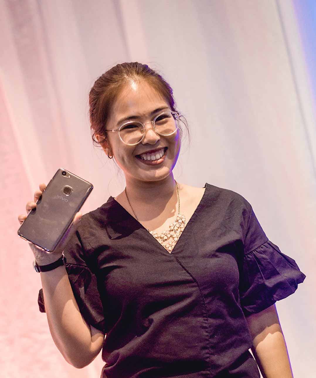 Meriahnya Launching Vivo V7 Plus