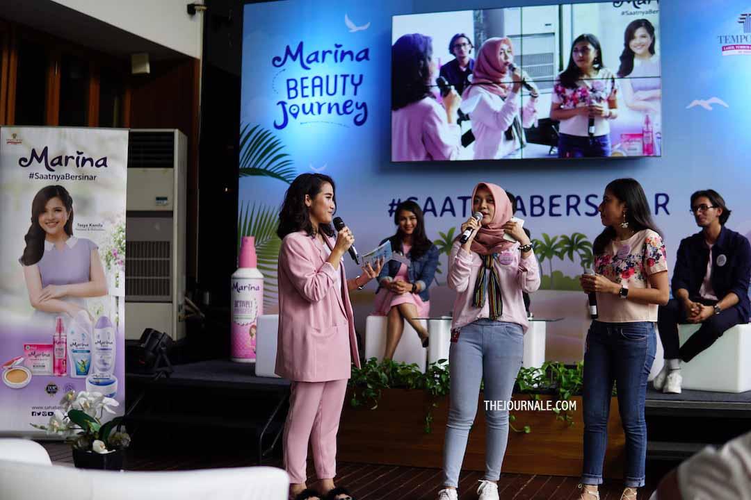 #SaatnyaBersinar Bareng Marina Beauty Journey [REVIEW]