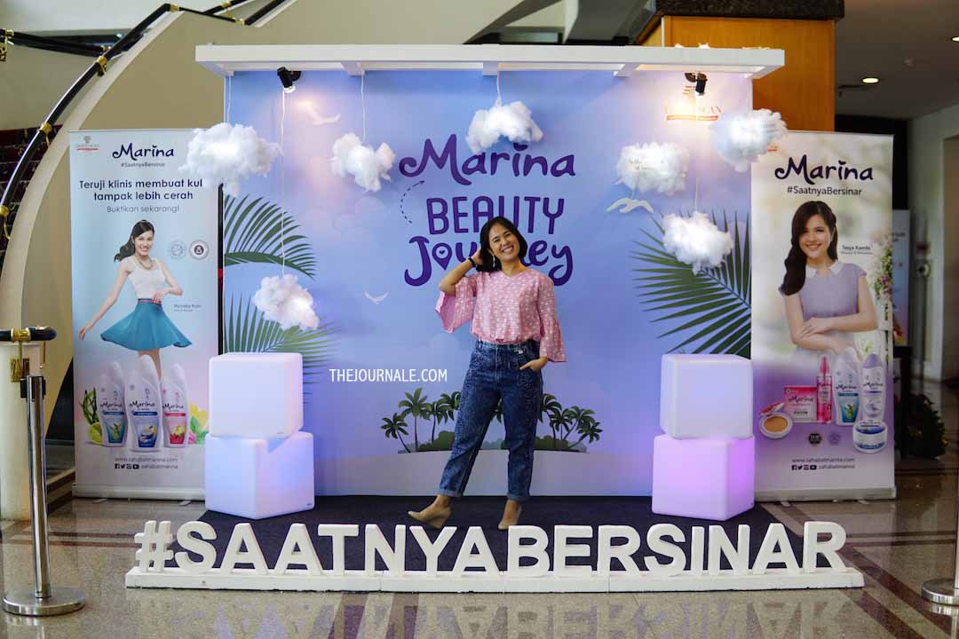 #SaatnyaBersinar Bareng Marina Beauty Journey [REVIEW]