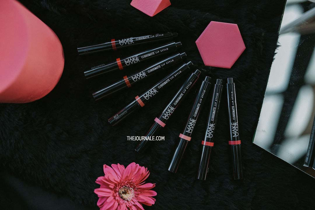 Nyobain 8 Shade Make Over Cliquematte Lip Stylo [REVIEW]