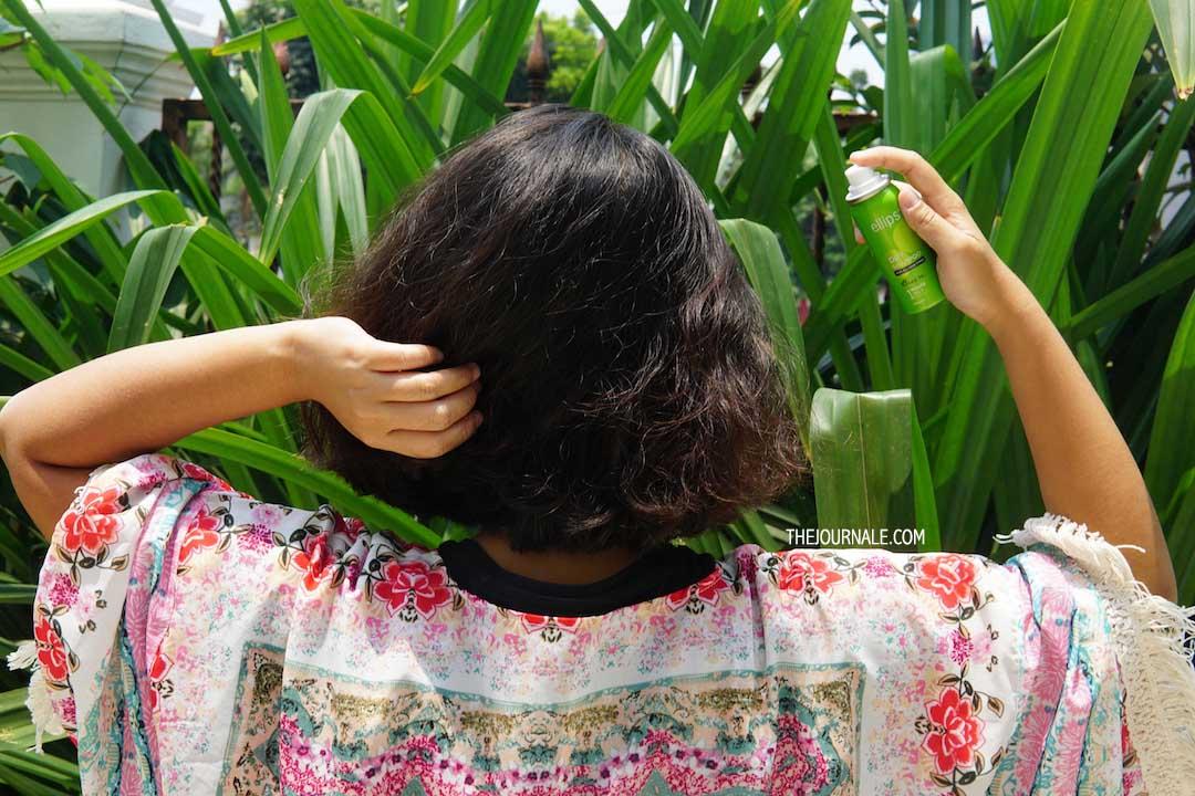 Rambut Bebas Minyak dengan Ellips Dry Shampoo [REVIEW]