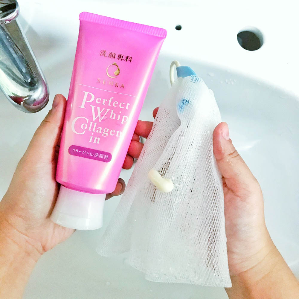Akhirnya Kesampaian Nyobain Senka Perfect Whip Collagen In! [REVIEW]